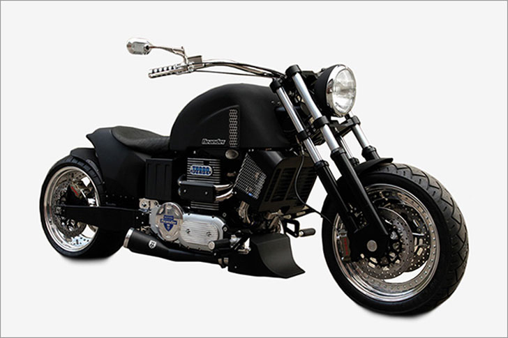 Neander Turbo Diesel MotorCycle