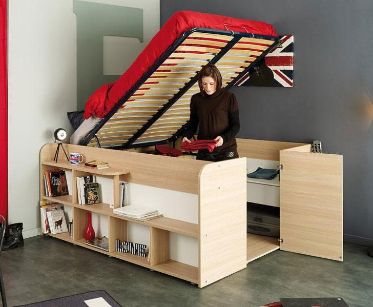 Parisot Space Up Bed Closet