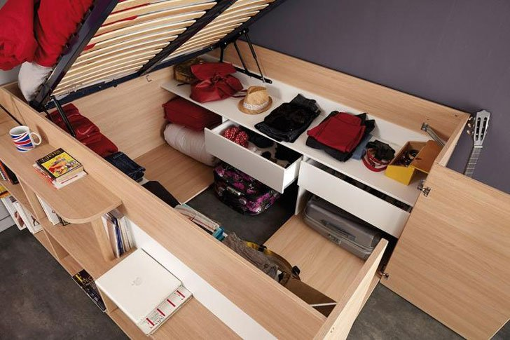 Parisot Space Up Bed Closet