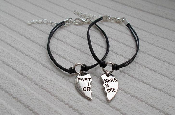 Partners in Crime Best Friends Bracelets