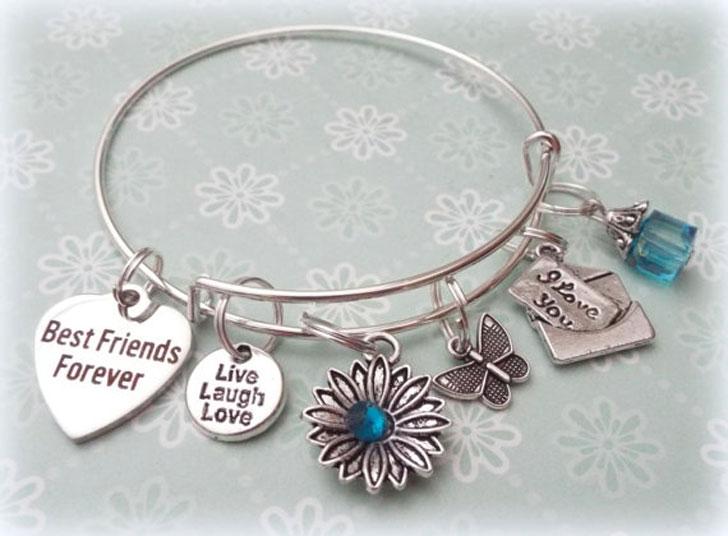 Personalised BFF Charm Bracelets
