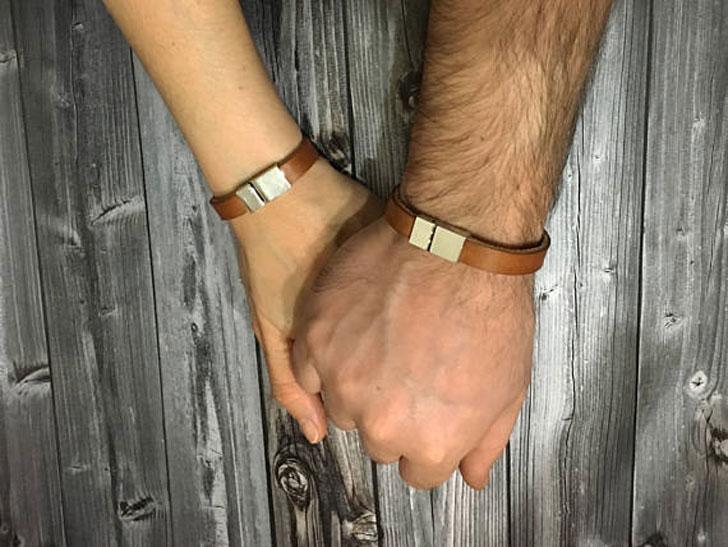 Personalised Hidden Message Couple Bracelets - Best Friend Bracelets