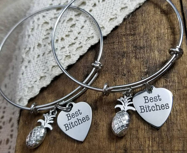 Pineapple BFF Bracelets