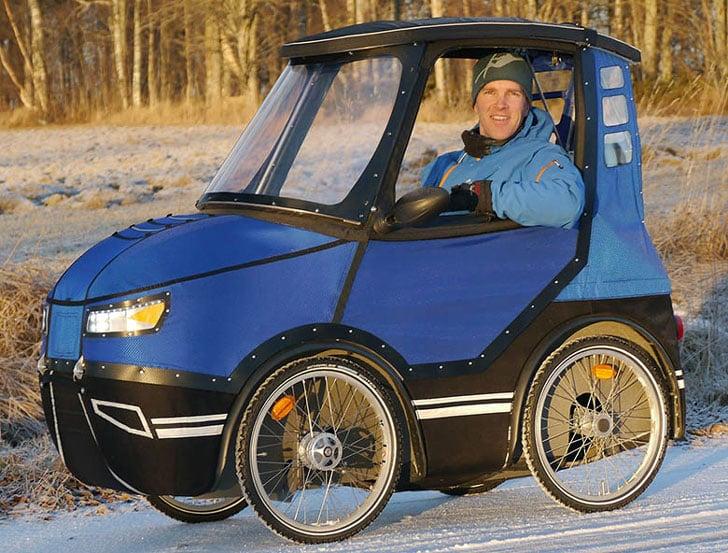 PodRide Four Wheel E-Bike