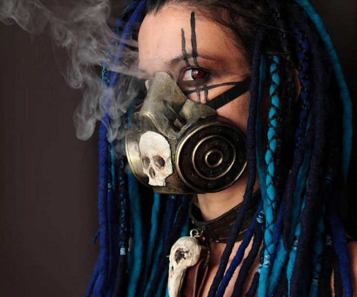 Post Apocalyptic Steampunk Gas Masks - Awesome Stuff 365