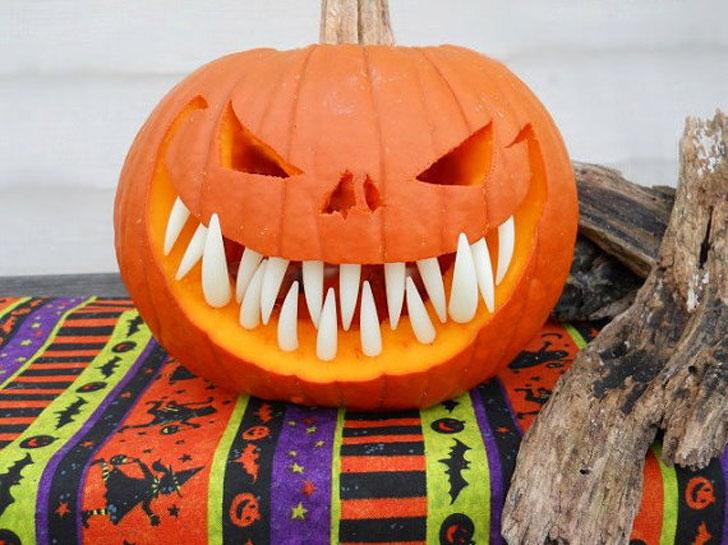 Pumpkin Teeth