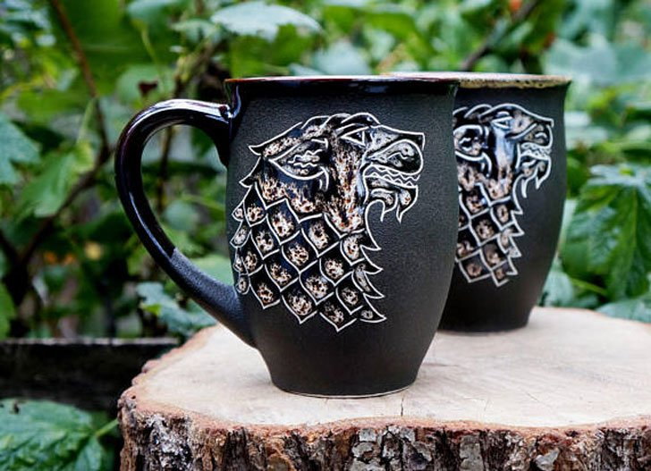 Quality Ceramic stark coffee Mugs