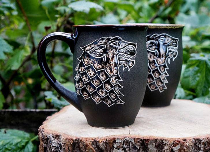 Quality Ceramic stark coffee Mugs