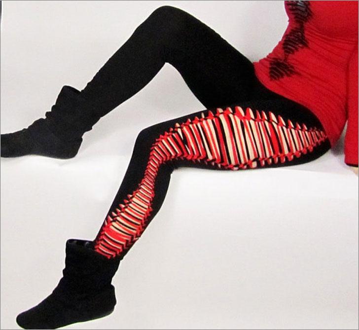 Reversible Yoga Leggings