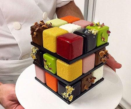 Rubik's Cakes