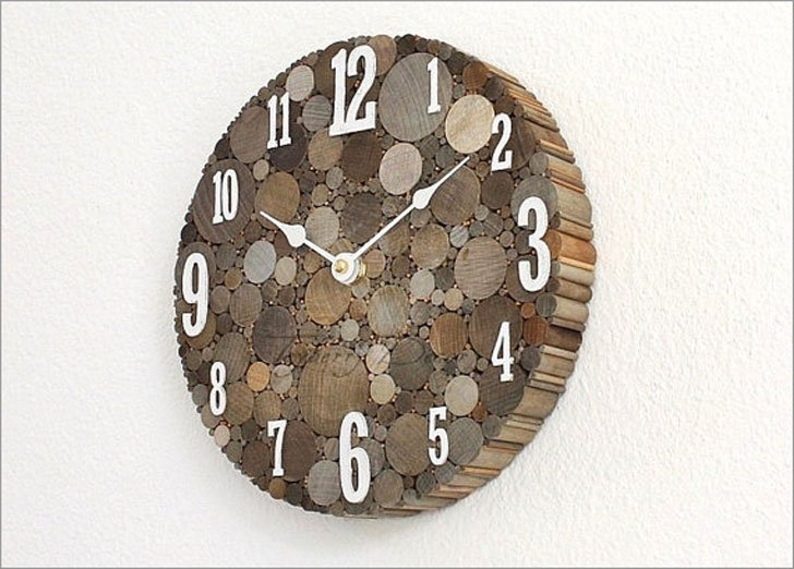 Rustic Fram House Decor Wall Clock