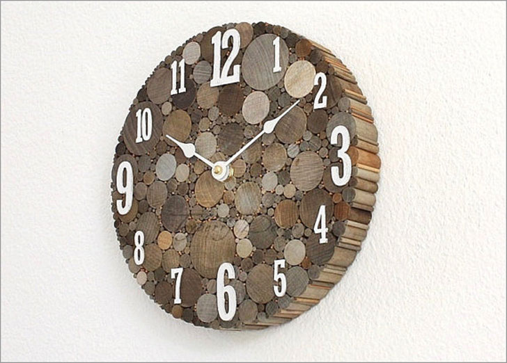 Rustic Fram House Decor Wall Clock