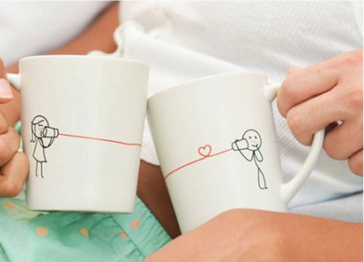 Say I Love You Couples Mug Set