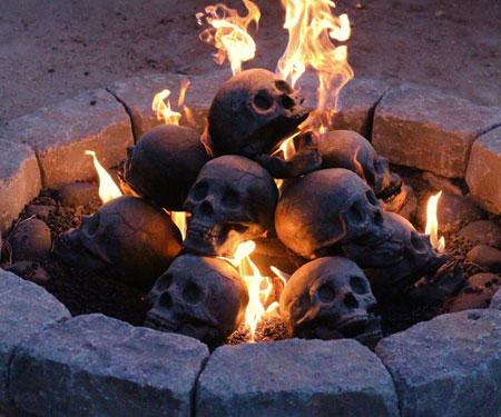 Skull Fire Pits