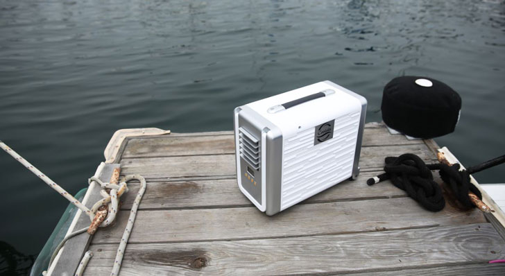 Solar-Powered Air Conditioner