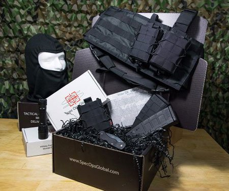 Spec Ops Global Tactical Monthly Subscription Box