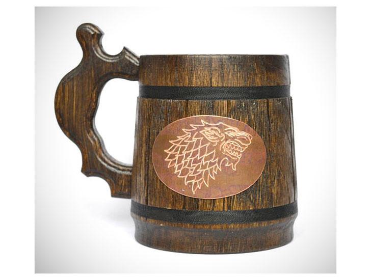 Stark Game of Thrones Stein Mug