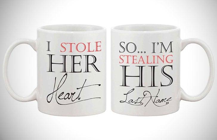 Stole Heart & Soul Mug Set