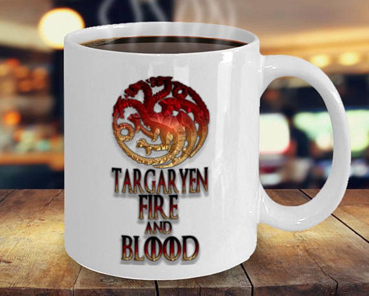 Targaryen, Fire and Blood GoT Mug
