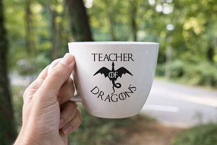 Teacher Of Dragons Coffee Cup