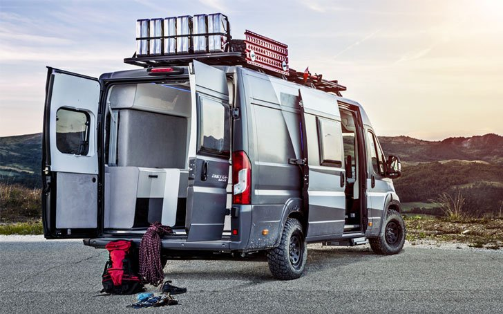 The Fiat Ducato 4×4 Expedition Camper Van