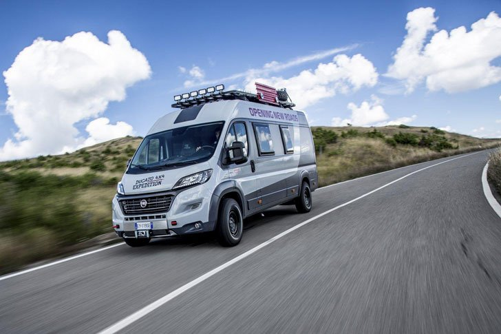 The Fiat Ducato 4×4 Expedition Camper Van - Expedition Vehicles