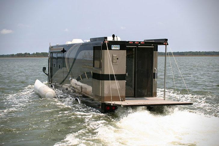 The Terra Wind Amphibious RV
