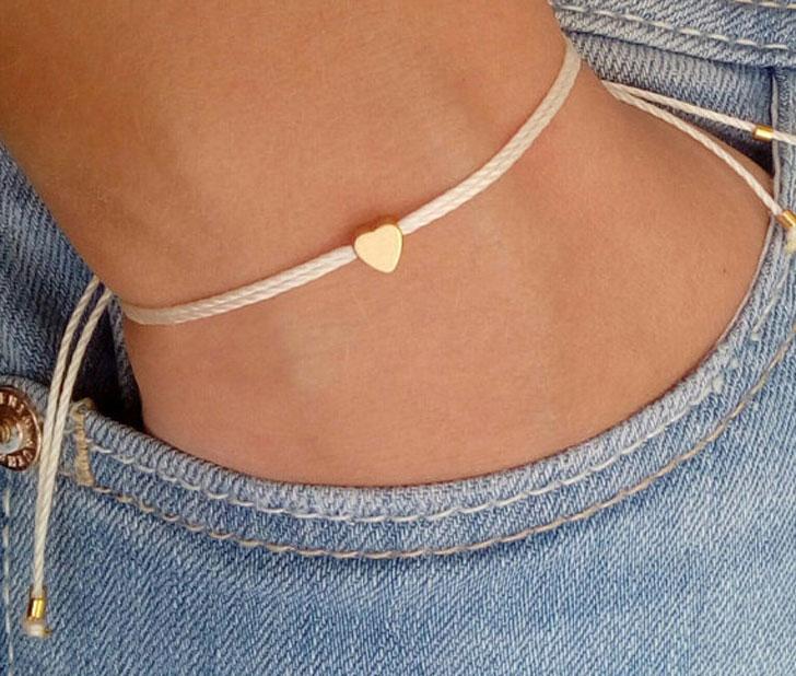 Tiny Heart Wish Bracelet