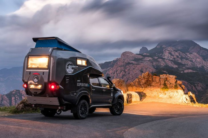 How Much Is The Toyota Hilux Expedition V1 Camper >> 8 Awesome Expedition Vehicles You Need To See! - Awesome Stuff 365