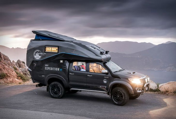Toyota Hilux Expedition V1 Camper - Expedition Vehicles
