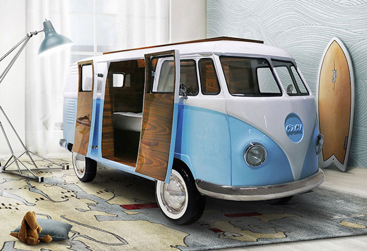 VW Bun Van Bed