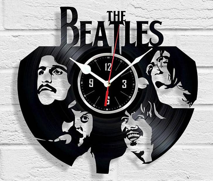 Vinyl Record Wall Clocks