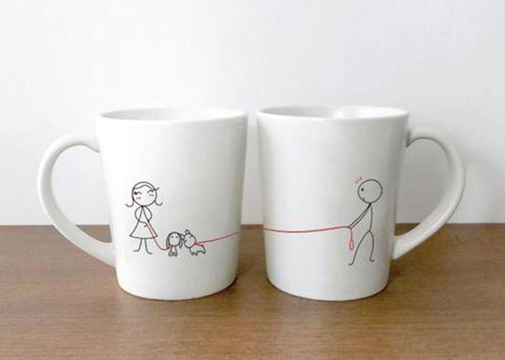 We Belong Together Couples Coffee Mug Set