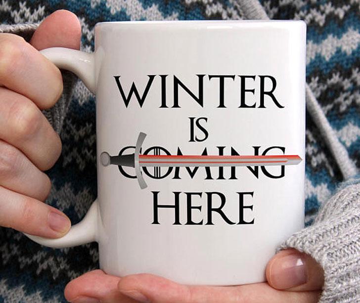 Winter Is Here Mug
