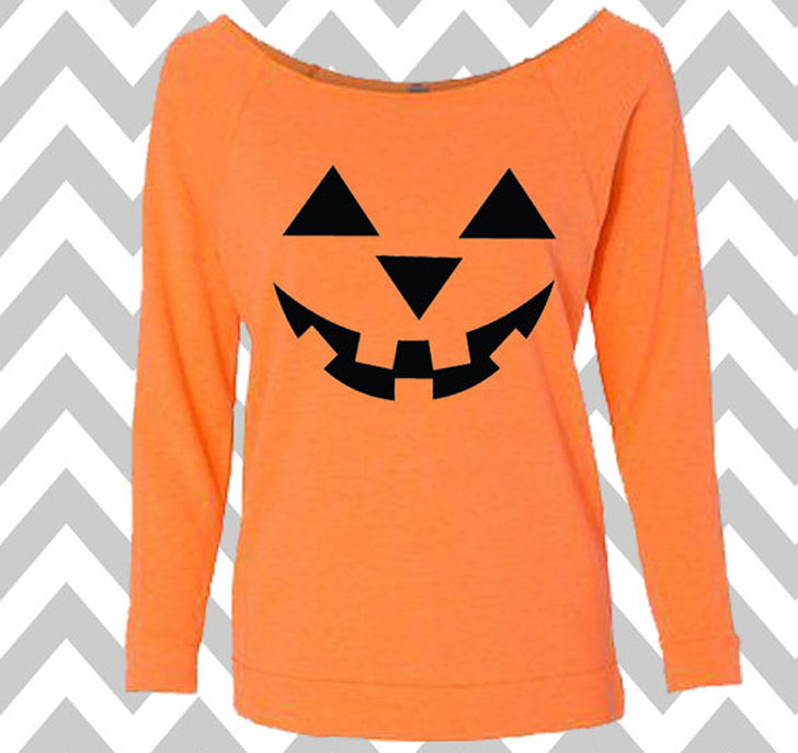 Women's Long Sleeve Tank Top Halloween T-Shirt