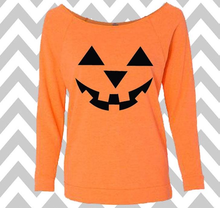 Women's Long Sleeve Tank Top Halloween T-Shirt