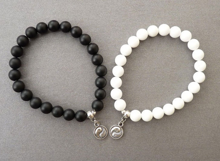 yin yang bracelet for couples 40 best friendship bracelets charm bracelets for your bff 6035