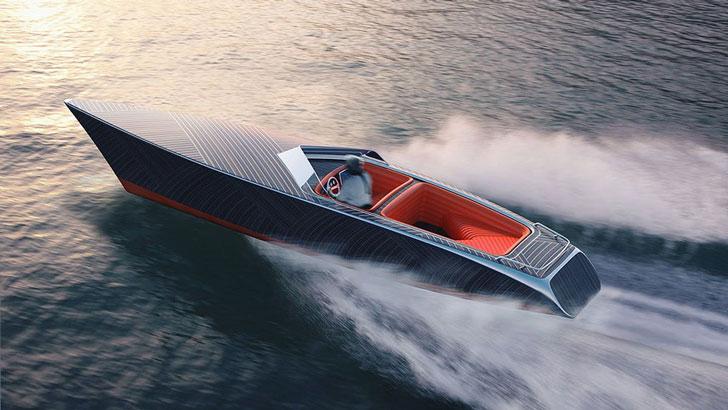 Zebra Electric Wooden Boat