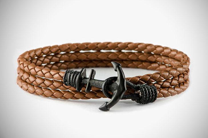 24K Gold Plated Anchor Bracelet
