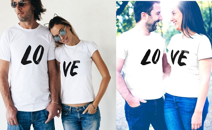 Couples LOVE T-shirts