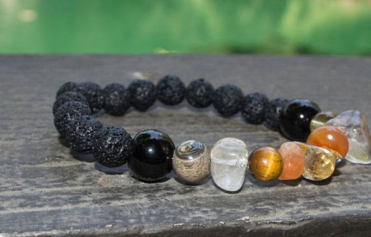 Anxiety and Anger Management Healing Gemstone Bracelet