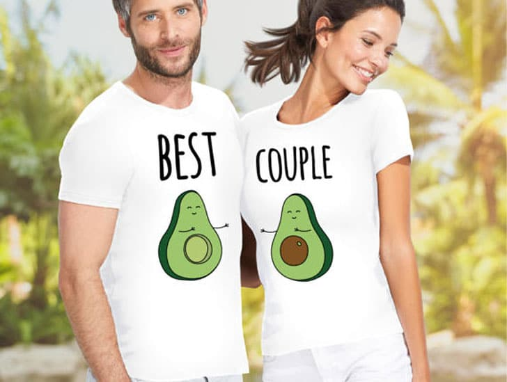 Avocado His and Hers Shirts