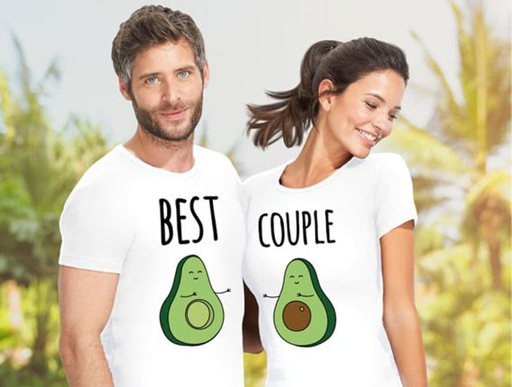 Avocado His and Her's Shirts