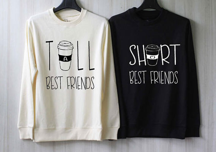 Best Friend or Couples Coffee Sweaters - gifts for coffee lovers
