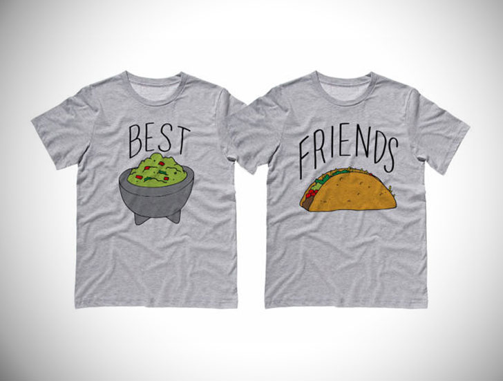 Best Friends Guac And Taco Shirts