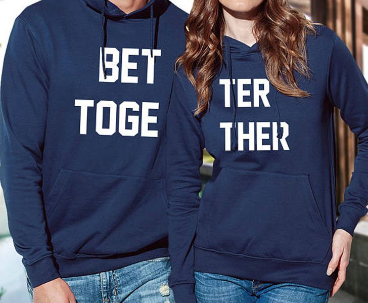 Better Together Matching Hoodies For Boyfriend And Girlfriends