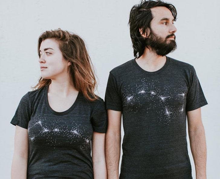 Big Dipper Little Dipper Couples Shirts