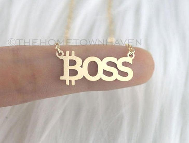 Bitcoin Boss Necklace