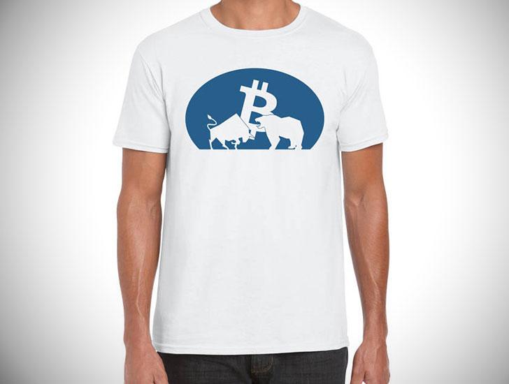 Bitcoin Bull vs. Bear T-Shirt