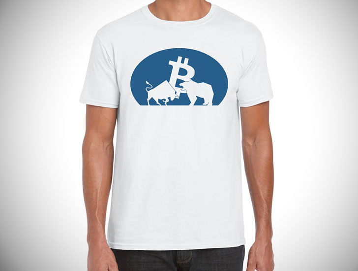 Bitcoin Bull vs. Bear T-Shirt